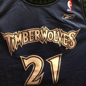 Minnesota Timberwolves NBA Basketball Jersey #21